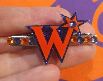 "Magic Joke Shop ""W"" Tie Clip"