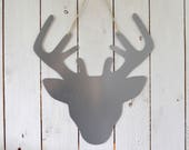 Galvanised steel magnetic board – Memo board - Deer shape