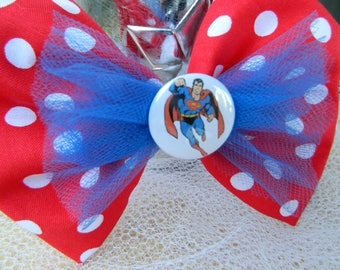 Superman Inspired Bow