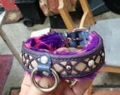 CUSTOM ORDER for RYAN | One of a Kind Handcrafted Collar | Astral Chrysalis Designs
