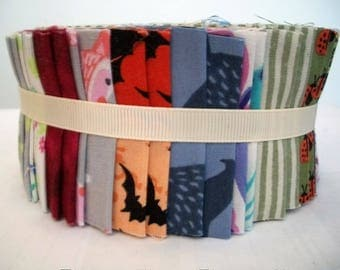 40 strips - Jelly Roll Quilting Patchwork Cotton Fabric - 2 1/2 inches x 44 inches each - Tissu pour courtepointe