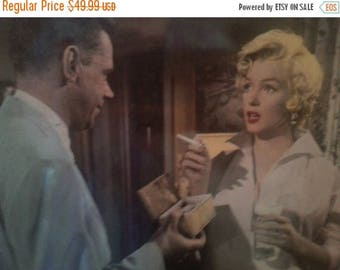 Now On Sale 1980's Marilyn Monroe Photograph Print, Seven Year Itch Movie Tom Ewell, Numbered 55/235, 20th Century Fox