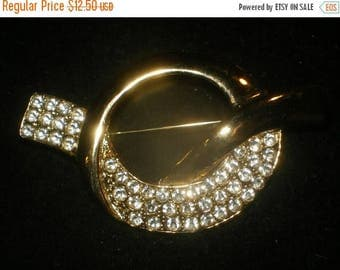 Now On Sale Vintage  RHINESTONE PARK LANE Collectible Brooch Signed Collectible Jewelry Mad Men Mod Rockabilly