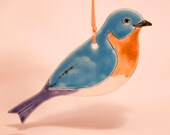 Ceramic Blue Bird Ornament......