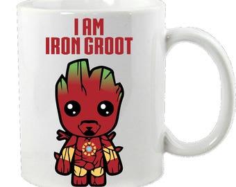 I Am Iron Groot Mug