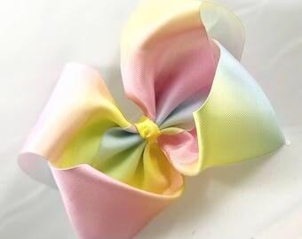 Jojo Siwa Bow - Big Rainbow Bow