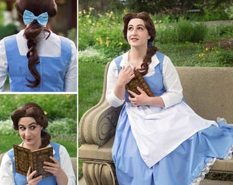Village Belle Inspired Wig from Beauty and the Beast