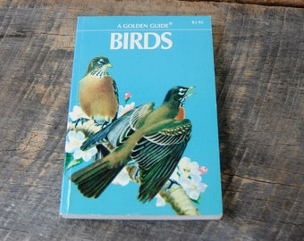 Vintage Birds A Golden Guide 1956