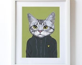 Vincent -Matte Print - From Painting by Heather Mattoon
