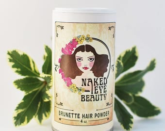 Brunette Dry Shampoo Hair Powder