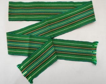 Ukrainian hand woven belt, krayka. #4