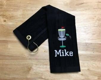 Custom Personalized Disc Golf Towel,