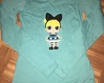 Alice In Wonderland Doll Shirt