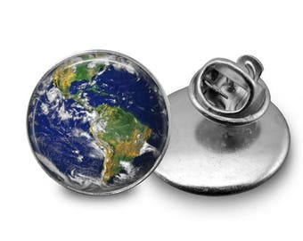 Earth Pin/ Planet Earth Pin/ World Pin/Globe Pin/ Earth Lapel Pin/ Save the Earth Pin/ Magnet/ Planet/ Earth/ Lapel Pin B89