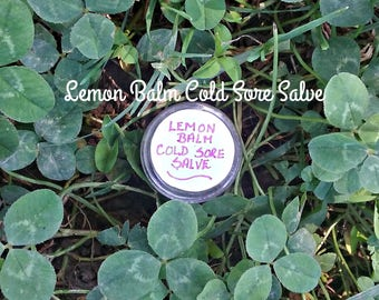 Cold Sore Salve - Cold Sore Relief - Moisturizing Cold Sore Salve - Natural Remedies - Herbal Remedies - Elusive Wolf