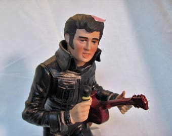 Elvis McCormick Decanter,  Forever Elvis '68 Collectible Decanter Plays Music