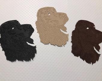 3 Beautiful Irish Setters, Handmade, Brown, Black, Beige, Beautiful Cards, Scrapbook Page, Sizzix