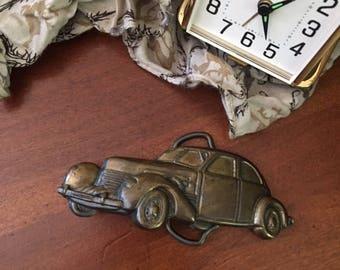 Vintage Car Belt Buckle