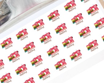 Quilting planner stickers for your Erin Condren Planner