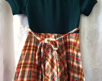 Vintage Summer Sale Darling little girl school dress size 5 1960