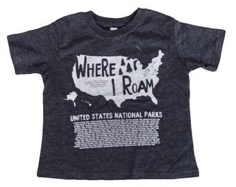 Kids National Park Shirt US National Parks Kids Outdoor Explorer, Outdoor Adventure, National Parks Shirt, youth explorer, Nature Explorer