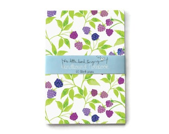 Blackberry - Custom Bullet Journal - Traveler - Notebook - Exercise Book  - 60 Pages