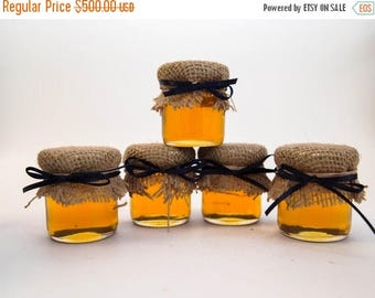 SALE 15% Off Ends Sunday 200 Burlap Dressed Mini Mason Jar Favors