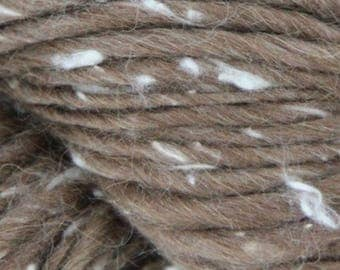 30% Off   50g/1.76oz Alpaca - Wool - Silk HASA Chunky yarn by Mirasol #2206 Mahogany /Free shipping to US