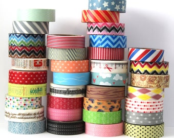 10 Washi Tapes - PICK 10 PATTERNS  - U PICK