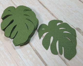 Tropical Leaves die cuts, Great Embellishments