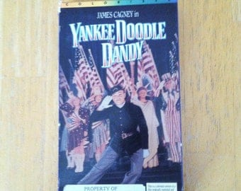 Yankee Doodle Dandy (VHS, 1995, Colorized) James Cagney