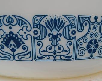Pyrex Horizon Blue Casserole Dish 475