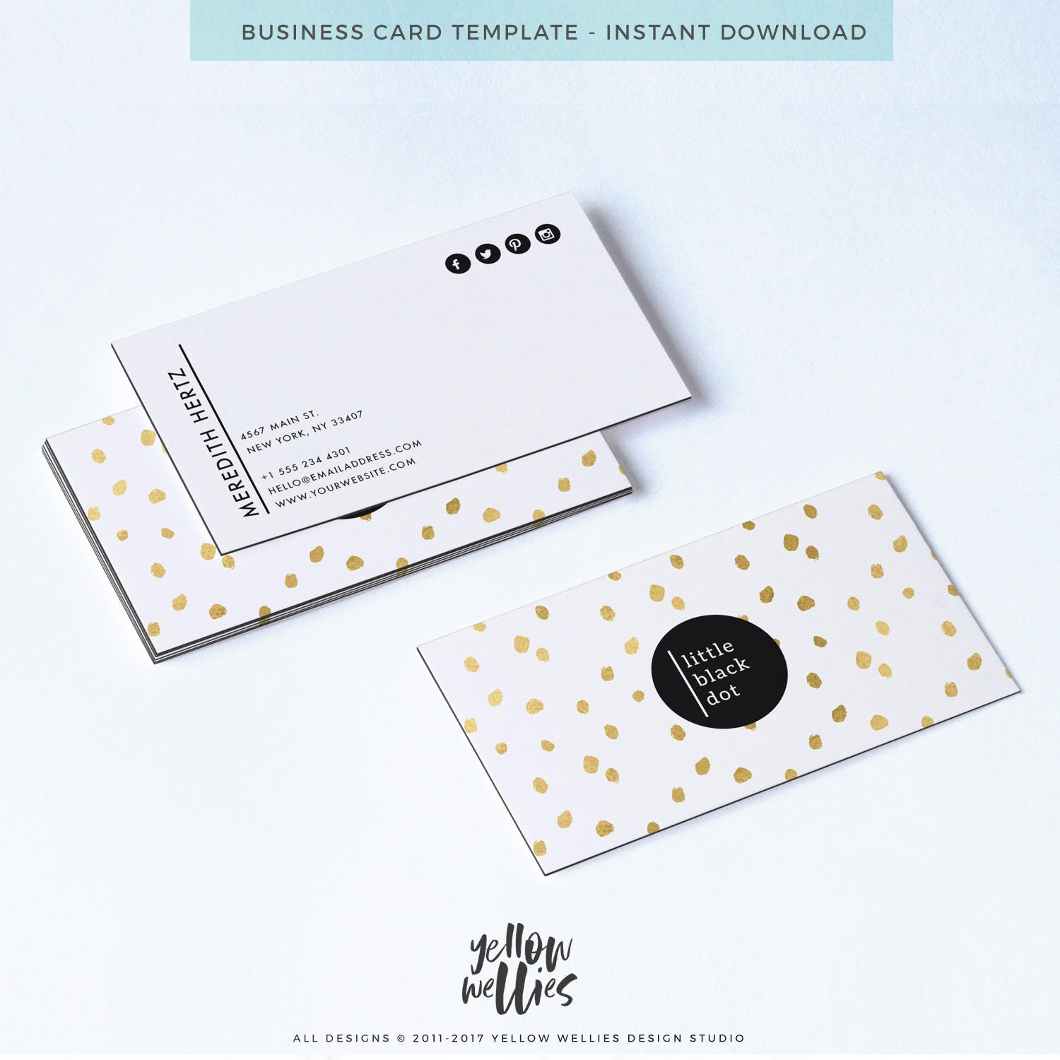 Awesome pictures of rush business cards nyc business cards and business card template gold dot business card photoshop magicingreecefo Image collections