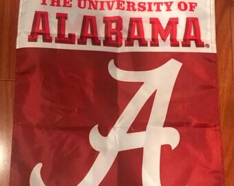 University Of Alabama Crimson Tide Garden Flag Football Fan Decor Double  Sided