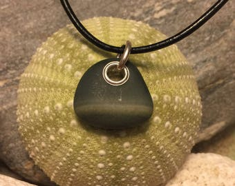 Beach stone jewelry- beach stone necklace