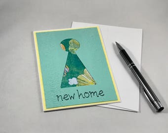 New Home Card, New Home Housewarming Gift, New Homeowners Congratulations Card, Housewarming Card, Housewarming Party
