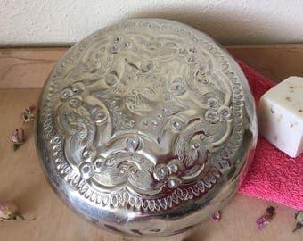 Antique  Authentic  Moroccan Hammam (Oriental bathhouse) Bowl.  Large Size.