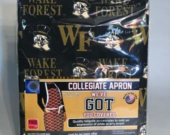 Wake Forest BBQ Apron-Wake Forest Apron
