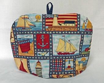 Sail Ahoy Dome Tea Cozy with Travet
