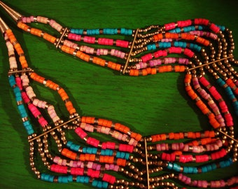 Vintage Ethic Multi Strand Necklace