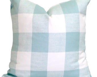 Pillow, Throw Pillow, Pillow Cover, Cushion, Decorative Pillow, Plaid, Buffalo Check Pillow. Cottage Look Pillow. All Sizes, Cushion,cm