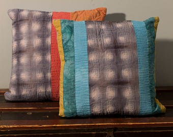 Quilted Pillow Cover