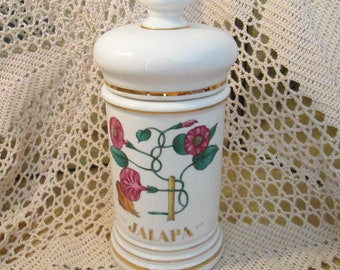 Vintage Apothecary Jar for Jalapa, Made in Spain