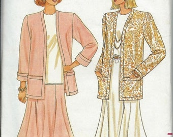 ON SALE Butterick 4432 Misses Jacket, Skirt and Top Pattern, Fast & Easy Size P-S-M Uncut