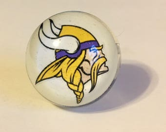 Minnesota Vikings Ring - Vikings Ring - Ring - Football Ring - Football Jewelry - Vikings Jewelry - Minnesota Ring - Vikings - Football