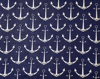 Anchors Embrace - Double Gauze Fabric -Shannon Fabrics -NAU-18