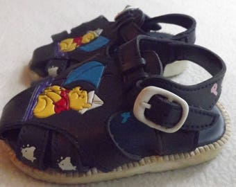 Baby Boys Sandals, Winnie The Pooh Shoes, Navy Blue Fisherman Sandals, 90s Shoes, Sailboats, Kids Sandals Size 4, Kids Shoes