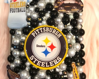Pittsburgh Steelers Bedazzled Flask