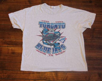 toronto blue jays shirt back to back MLB baseball world series champions large