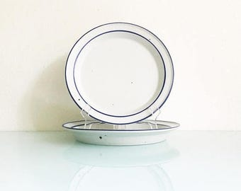 ON SALE Dansk Niels Refsgaard Blue Mist Salad Plate Set